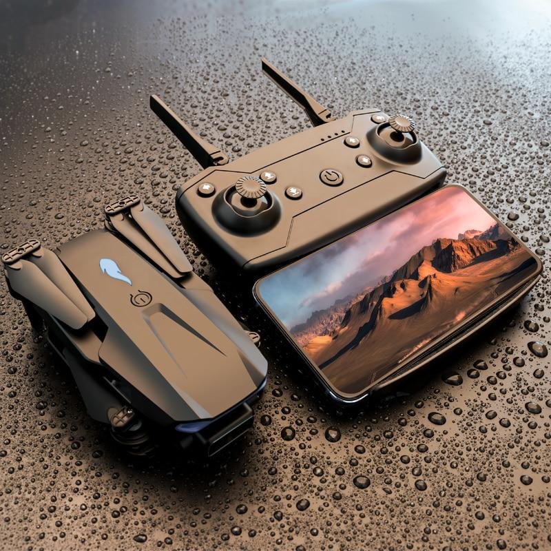 XCZJ 2021 طائرة صغيرة قابلة للطي S89 كوادكوبتر 4K HD كاميرا مزدوجة ارتفاع يمكن الحفاظ عليها واي فاي FPV وضع بدون رأس لعبة درون بوي هدية