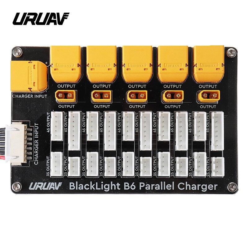 URUAV Blacklight B6 XT30 XT60 Stecker 2-6S Lipo Batterie Ladegerät Board Für IMAX B6 ISDT Q6 PRO lite HOTA H6 Pro D6 A6 Ladegerät