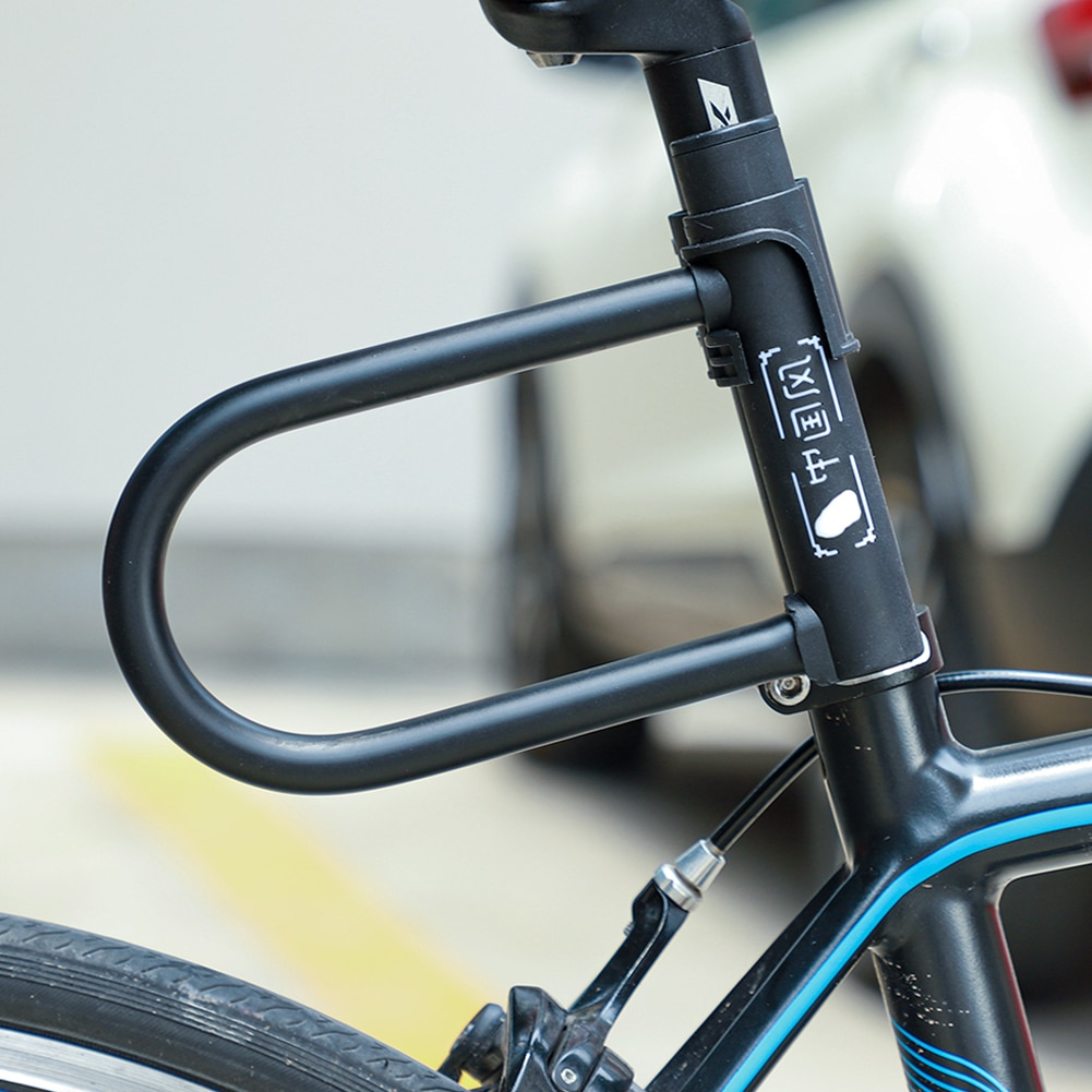 U-förmigen Anti-diebstahl Motorrad Bike Lock Elektrische Fahrzeug Fahrrad Schlösser Fahrrad U Sperren Motorrad Radfahren Roller sicherheit