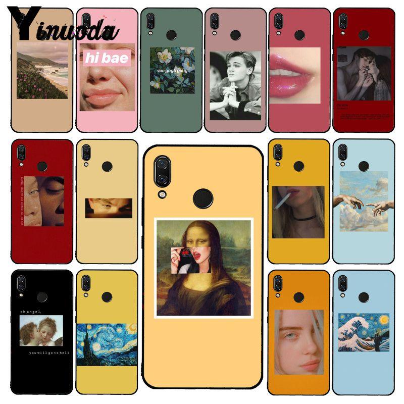 Чехол для телефона Yinuoda Great art aestic van Gogh Mona Lisa Angel для Xiaomi Redmi Note 7 5 4 Redmi 5plus 6A Note8 4X Note8Pro