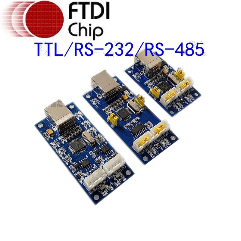 Adaptador convertidor de Chip USB a 2 puertos de serie TTL, dos...