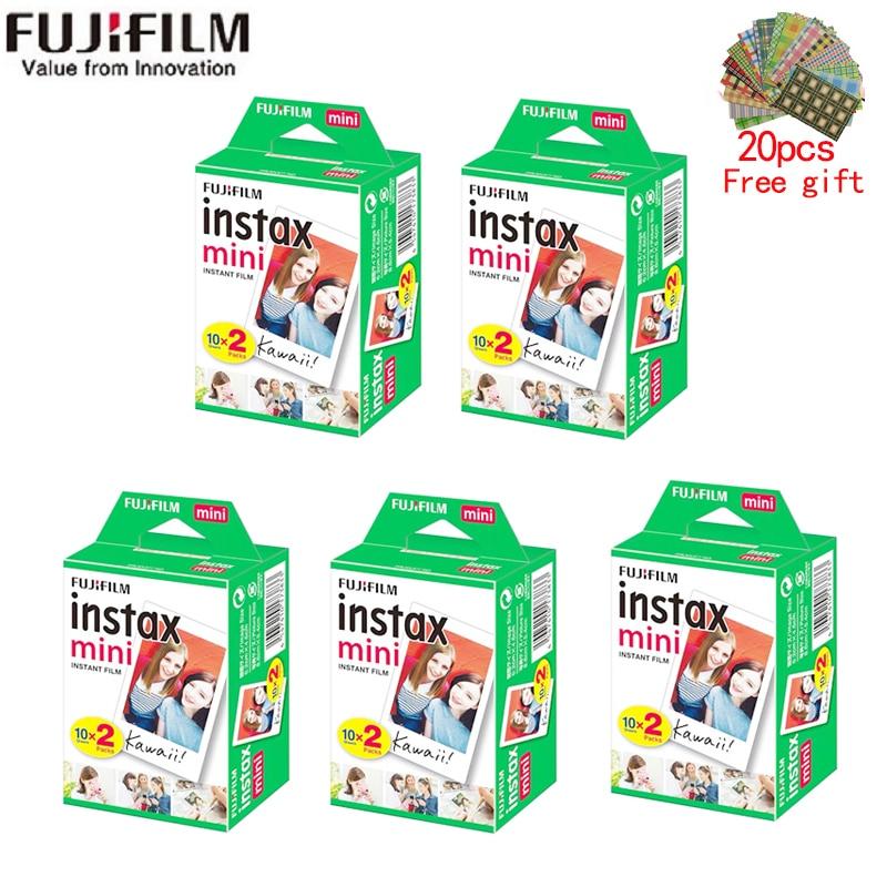 10/20/40/60/80/100 sheets Fujifilm instax mini 11 9 3 Inch white Edge films for Instant Camera mini