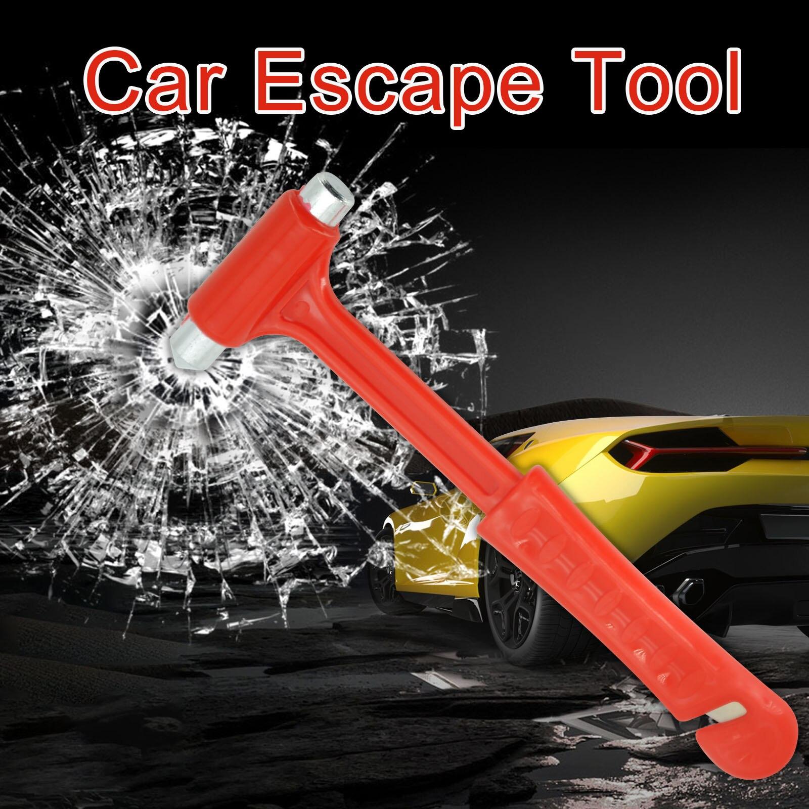 Автомобиль самопомощи Безопасность молоток инструмент для аварийного выхода огня оконный брейкер, стук Стекло для наружных осветительных ...