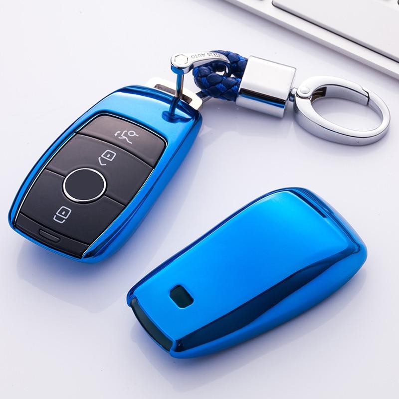 Funda protectora de Tpu para llave de alta calidad para coche Mercedes...
