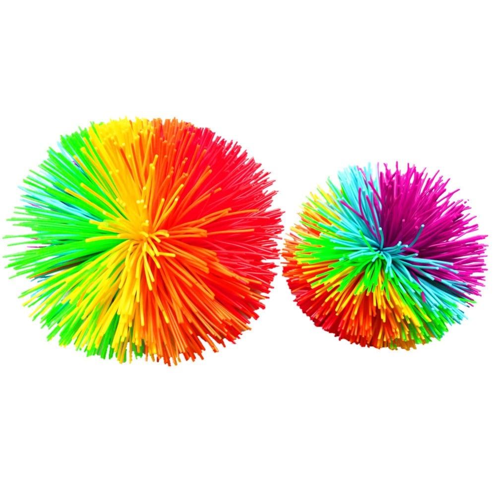 AliExpress - New Anti-Stress 6cm/9cm Rainbow Fidget Sensory Koosh Ball Baby Funny Stretchy Ball Stress Relief Kids Autism Special Needs