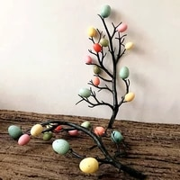 easter egg tree decor creative branch with painting eggs spring party supplies kindergarten decoration home ornaments diy craft