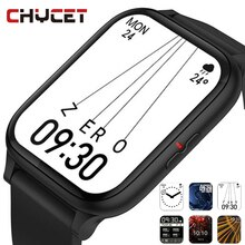 CHYCET 2021 Smart Watch Men 1.69 Inch 2.5D Curved Screen 8.5 MM Thickness Dial Call Sport Watches Sm