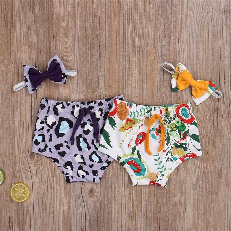 Pantalones bombachos para niñas, pañal para recién nacido, verano 2020, pantalones para bebé con banda para la mano de 0 a 2 años, pantalones cortos para niñas, bragas para niños pequeños