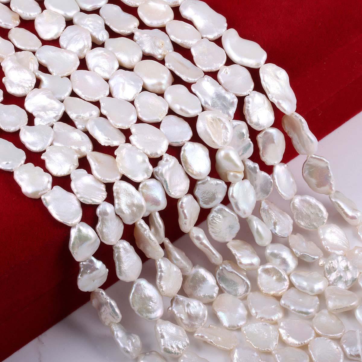 Perla Natural de agua dulce cordón moda aislamiento de para fabricación de joyería DIY, collar, pulsera, venta al por mayor de accesorios