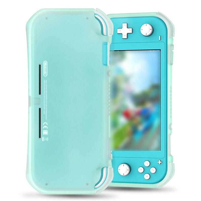 Funda de silicona blanda para Nintendo Switch Lite, funda protectora de silicona, carcasas de TPU para Nintendo Switch Lite