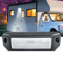 MICTUNING 3000 Lumen Awning Lights RV Exterior LED Porch Utility Light Replacement Lighting for RVs Trailer Campers Awning Light