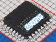 10 قطعة C8051F342-GQR 8051F342 C8051F342-GQ متحكم الأصلي حقيقية TQFP32 جديد