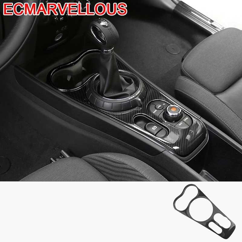 Accesorios Para coche, adhesivos de decoración de Interior, consola central, tablero, MINI...