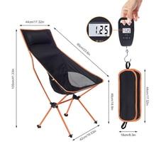 Outdoor Tragbare Camping Stuhl Oxford Tuch Klapp Verlängern Camping Sitz für Angeln BBQ Festival Picknick Strand Ultraleicht Stuhl