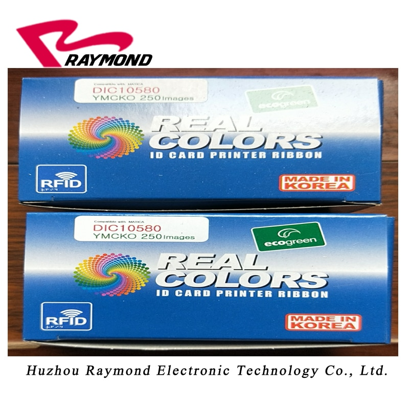 compatible EDIsecure  DCP350  printer  Color Ribbon    DIC10580