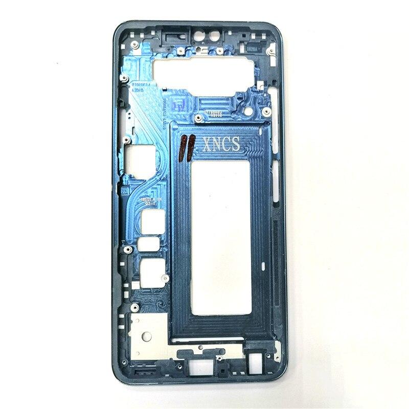 Para LG V40 marco frontal bisel carcasa LCD pantalla soporte marco piezas de repuesto