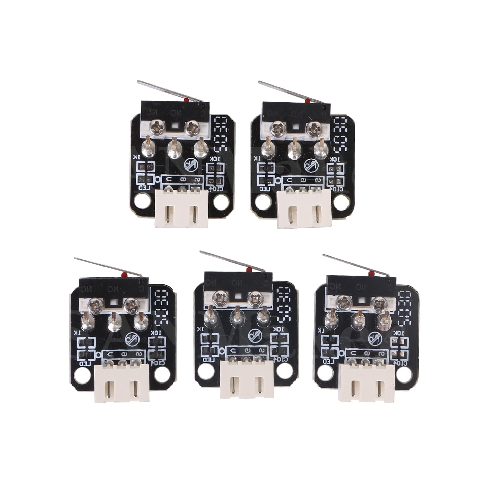 3d принтеры аксессуары x/y/z оси концевой упор выключатель 3pin