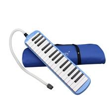 32 piyano Tuşları Melodika Enstrüman Müzik Severler için Yeni Başlayanlar Hediye Taşıma Çantası