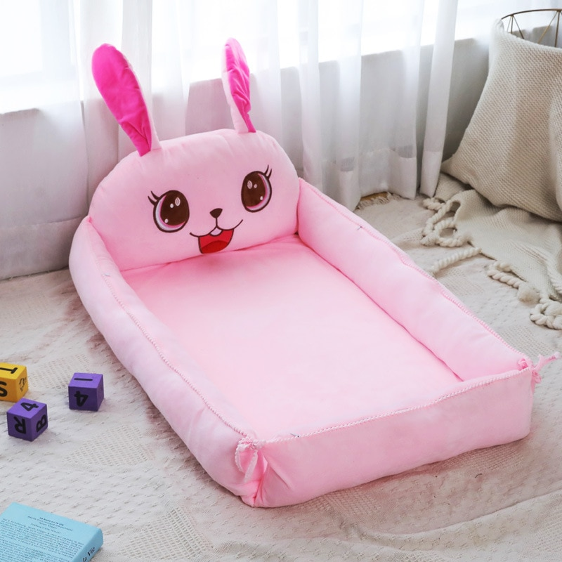 Baby's Oversized Bionic Bb Bed In Crib Baby's Portable Foldable Anti-pressure Bed for Newborn Baby's Bed. enlarge