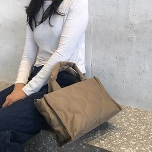 Hot Women Handbag Casual Large Shoulder Bag Nylon Tote Famous Brand Handbags Mummy Shopping Bags Waterproof bolsas Black