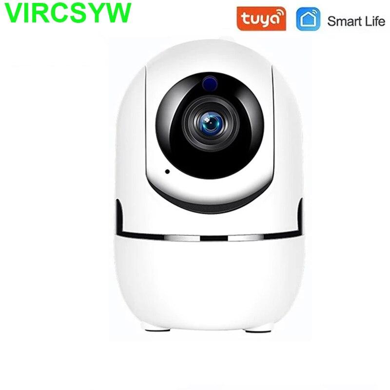 Tuya Камера 1080P IP Камера автоматическое слежение домашняя комнатная камера безопасности Камера наблюдения Беспроводной Wi-Fi Камера Видеоняни ...