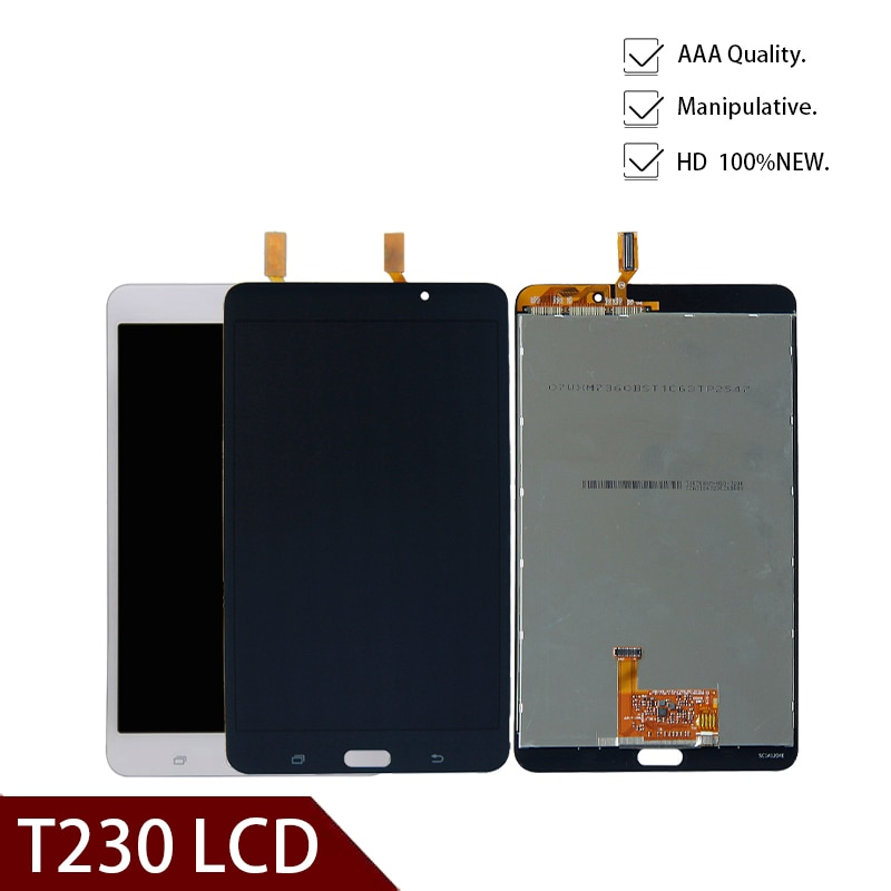 Para Samsung Galaxy Tab 4 7,0 SM-T230 T230 Pantalla Completa LCD Panel táctil digitalizador montaje de cristal reemplazo