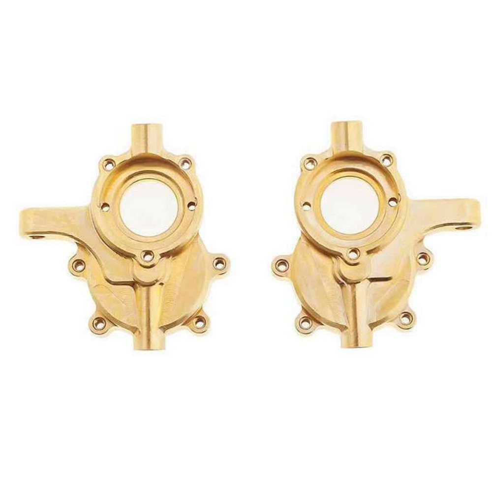 2pcs/set Brass Front Steering Cups for Redcat GEN8 RER11406 RC Crawler Car Upgrade Parts