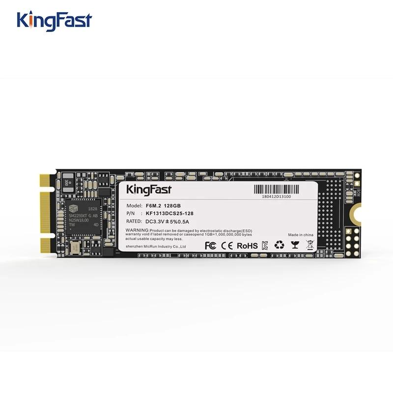 KingFast SSD M2 SATA 128GB 256GB 512GB 1 TB Solid State Disk 500GB 1TB M.2 NGFF 2280 Internal Hard Drives HDD for Desktop Laptop