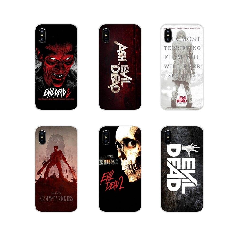 Злые Мертвые логотип зомби житель Evi для Apple iPhone X XR XS 11Pro MAX 4S 5C SE 6S 7 8 Plus ipod touch 5 6 Чехол для телефона