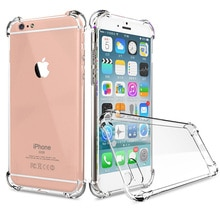 For iPhone 12Pro 12 12Mini 12ProMax 11Pro XS XR X 7 8 6S 6 Crystal Clear TPU Soft Back Case With Air