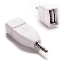 audio converter 3.5mm Male AUX Audio Plug Jack to USB 2.0 Female Converter Adapter for car audio
