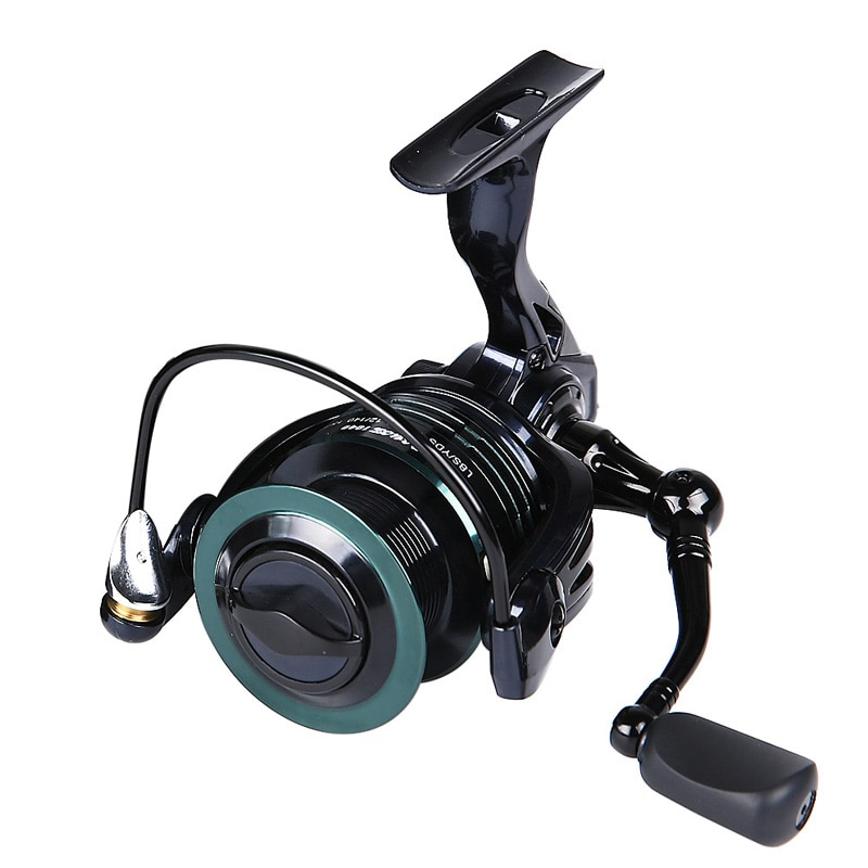 Fishing Rod and Reel Full Metal Wire Cup 9+1 Bearing Spinning Wheel Fishing Reel Luya Fishing Reel Fishing Reel Fishing Tools enlarge