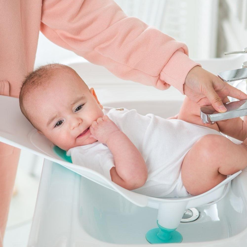 Best Portable Infant Baby Washing Ass Artifact Baby Washing Fart Basin Newborn Washing PP Tub Supplies Baby Bathtub Baby Care