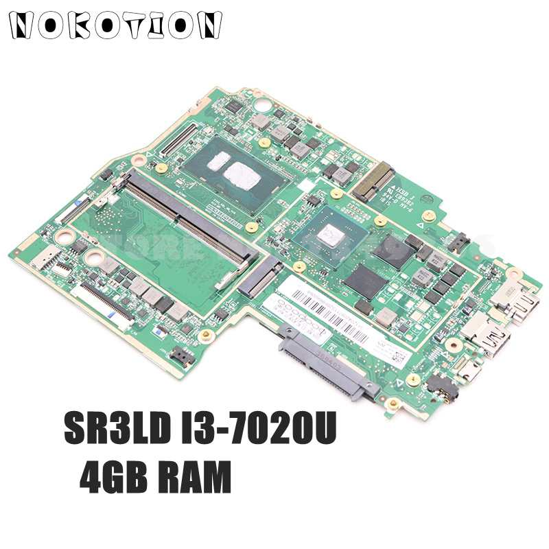 NOKOTION لينوفو IdeaPad 330S-15IKB 330S-KBL اللوحة الأم للكمبيوتر المحمول 15.6 بوصة 5B20R07542 SR3LD I3-7020U وحدة المعالجة المركزية 4 جيجابايت RAM R530 وحدة معالجة الرسومات