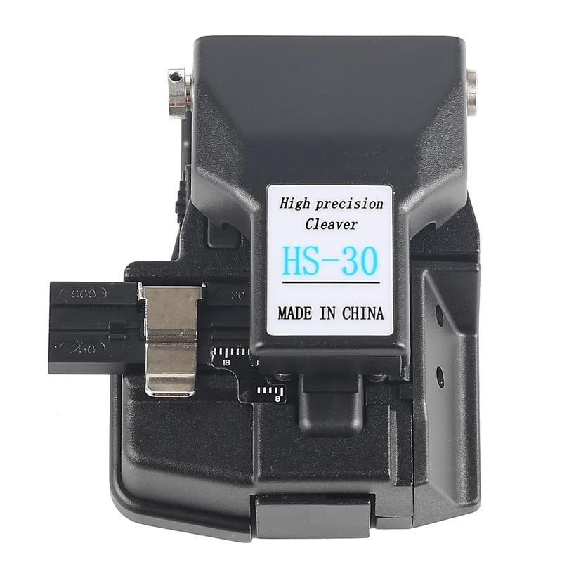 Herramientas FTTH cortador de fibra de HS-30 cortador de cable de alta precisión para empalmador de fusión