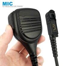 Micro haut-parleur Microphone pour Motorola XiR P6600 P6620 DP2400 MTP3000 MTP3250 DEP550 DP2400 MTP3550 MTP3100 MTP3150 Talkie-walkie