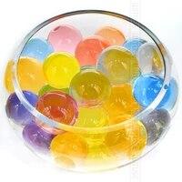 Grosses perles deau en cristal  Hydrogel de boue de sol  100 pieces lot  jouet pour enfants  boules deau Orbiz  decoration de mariage maison