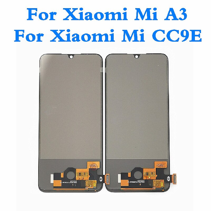 "6,01 ""TFT para Xiaomi Mi A3 CC9E pantalla LCD digitalizador de pantalla táctil para Xiaomi MiA3 pantalla táctil para Mi CC9e Display Replacement"