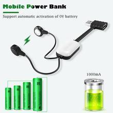 Chargeur de batterie universel A10 de couleur unie résistant à lusure de chargeur Durable pour le chargeur magnétique multifonction de batterie au Lithium