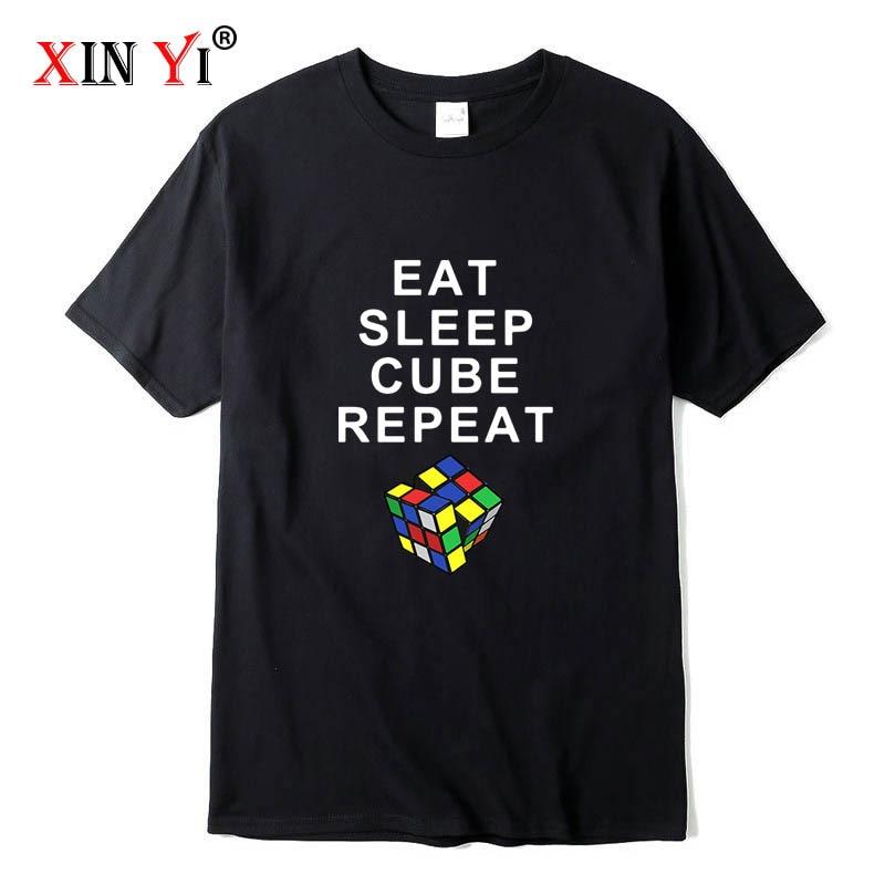 XIN YI Men's high quality t-shirt 100% cotton loose short sleeve fashion men's tops men T-shirt cool men tshirt male tee shirts недорого