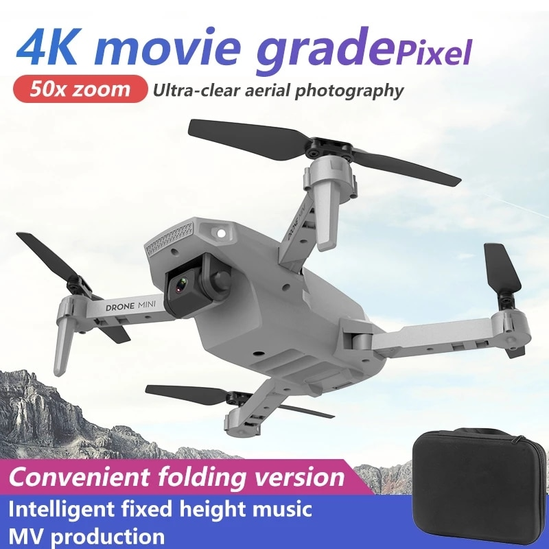 2021 New  Pro 4k Drone Gps Drones With Camera Hd 4k Rc Airplane Dual-Camera Wide-Angle Head Remote Quadcopter Aircrafts Toy enlarge
