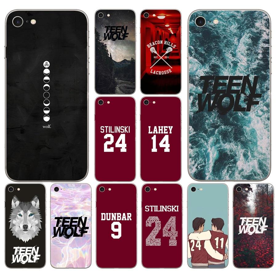 240DD Teen Wolf Stilinski 24 McCALL 11 LAHEY 14 DUNBAR 9 чехол для iphone 5 5s se 6 6s 8 plus 7 7 Plus X XS SR MAX