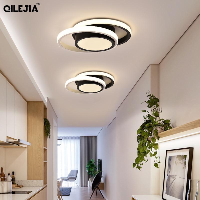 مصابيح سقف LED حديثة ، مصباح سقف دائري/مربع للمطبخ ، الممر ، الممر ، الشرفة ، المدخل ، المنزل