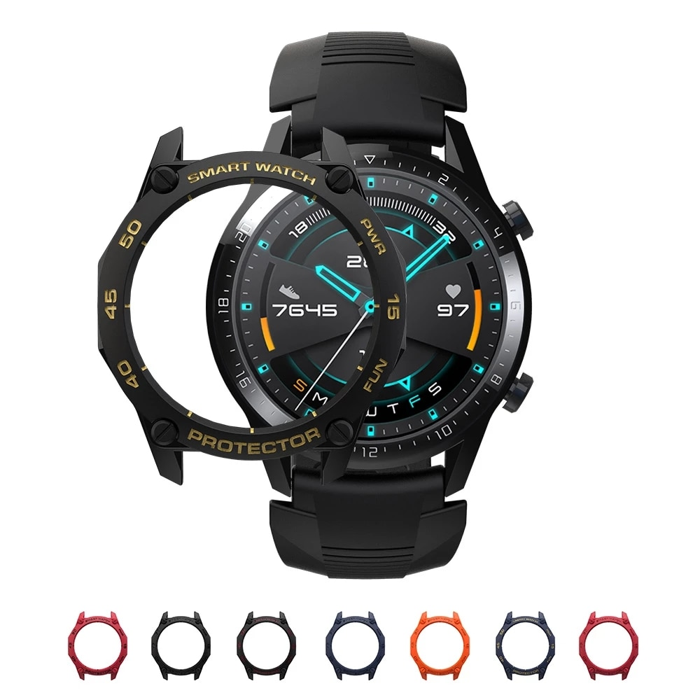 Case for Huawei Watch GT2 46mm Colorful Smart Watches Cover TPU Shell GT 2 46mm Protector SIKAI Sport Accessories for Huawei GT2