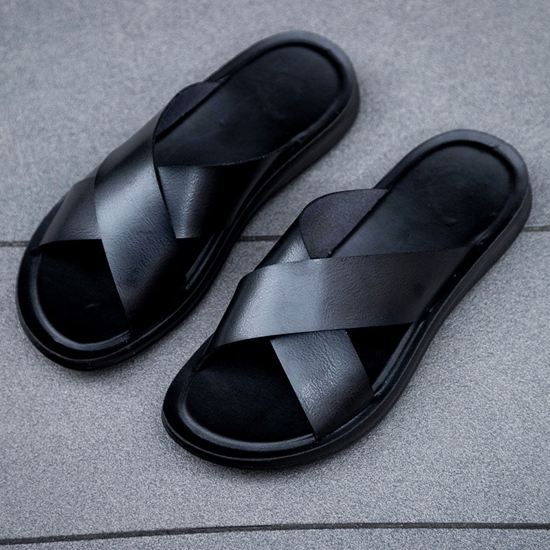 Фото - 2021 летние пляжные шлепанцы Мужская Обувь Новое поступление Роскошные Нескользящие сандалии для пляжа для мужчин большие Размеры дышащая Т... роскошные пляжные отели