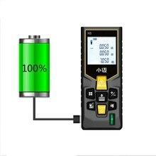 Mileseey Mini télémètre laser numérique trena ruban à mesurer laser outil de testeur de télémètre 100m-80m-60m-40m télémètre Laser