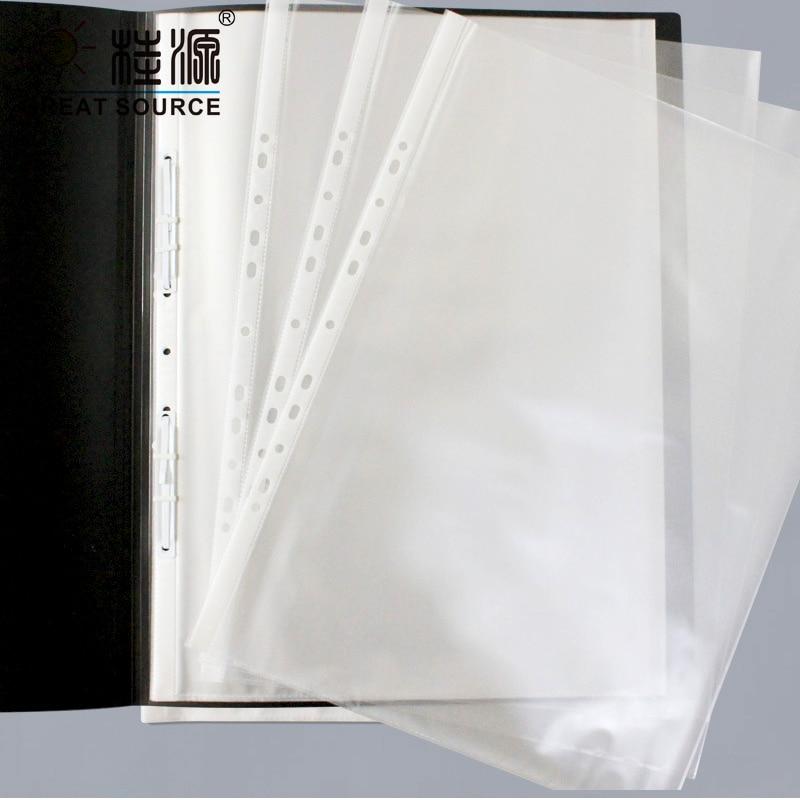 """A3 Presentation Bag A3 Binder File Bag 11 Holes For A3 Binder Folder Document W30.5*H42cm(12.0"""" * 16.36"""") (50pcs)"""