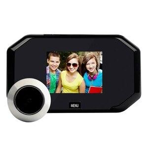 C09 Doorbell Camera Home Multifunctional 3.0-Inch High-Definition Display Cateye Door Surveillance Camera