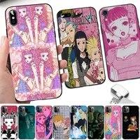toplbpcs anime paradise kiss miwako phone case for iphone 8 7 6 6s plus x 5s se 2020 xr 11 12 pro xs max