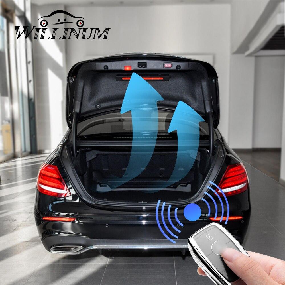 Puerta trasera eléctrica para Mercedes Benz W213 caja trasera de control remoto inteligente apertura puerta trasera elevación automática dar sensor de pie